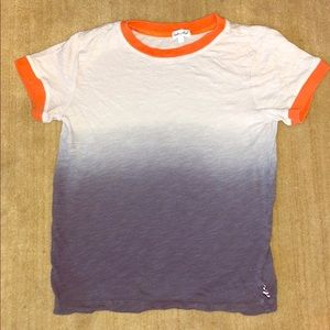 Splendid Ombré T-shirt Boys 7 EUC